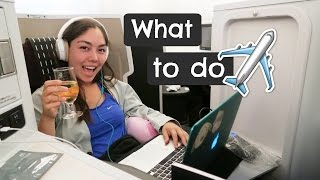 8 Things To Do on a Plane