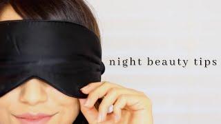 5 Overnight Beauty Tips