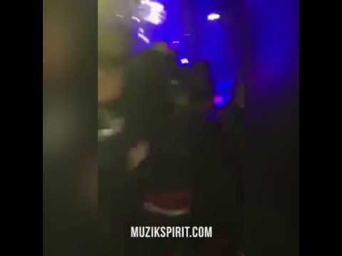 Booba se bat en boîte de nuit lors de son showcase au Tsunami Club en Suisse