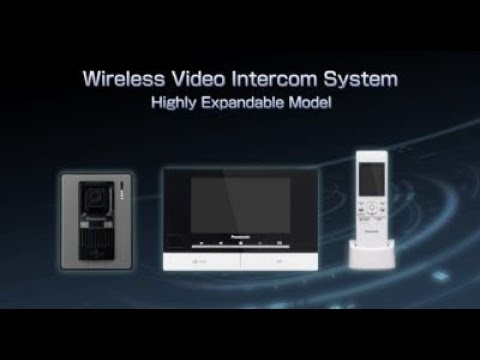 Panasonic Video Intercom System Highly Expandable Series (for Middle East, Asia, Oceania)