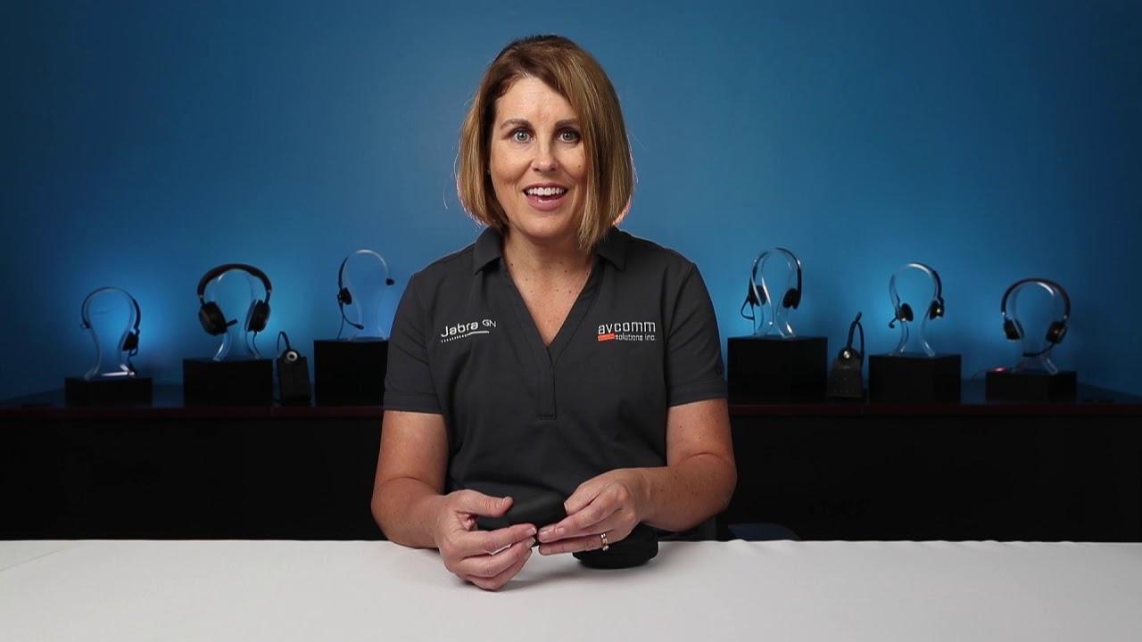 Jabra Evolve 65t Uc Wireless Earbuds Youtube