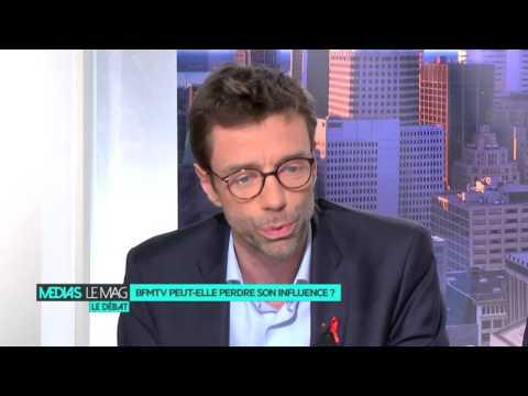 """Guillaume Dubois, directeur général de BFMTV : """"on fait tout pour rester leader"""""""