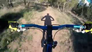 Downhill Flow Track - Mt Gladstone Cooma NSW - RAW GoPro Footage