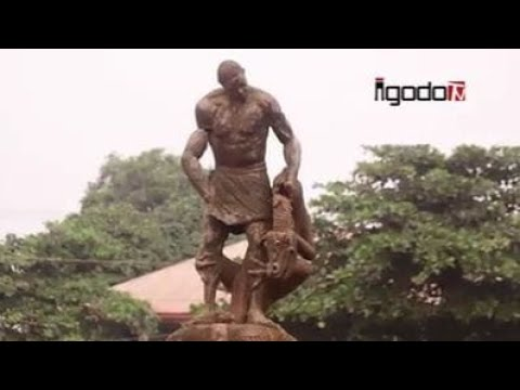 The Statues Of Historical People In The Great Benin Kingdom Are Dilapidated