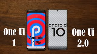 One Ui 2.0 vs 1.5 (1.1) - Side by Side Comparison and New Features on Android 10