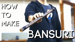 Как сделать бансури. Флейта из бамбука своими руками за полчаса