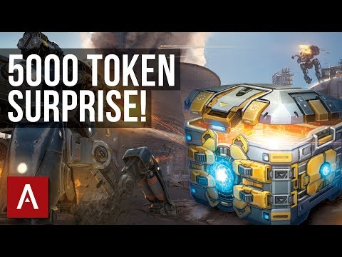 War Robots Summer Event: Subscriber Gives Away 5000 Tokens!