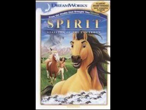 Download Opening to Spirit Stallion of the Cimarron 2002 DVD (2010 print)