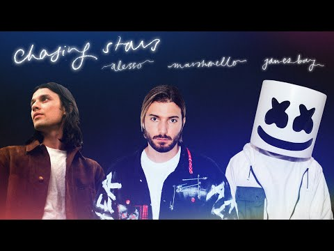 Смотреть клип Alesso & Marshmello Ft. James Bay - Chasing Stars