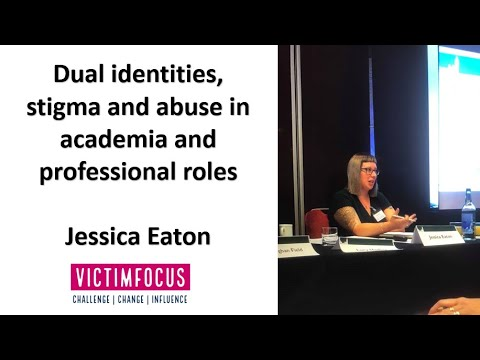 Can a victim of abuse ever become a good professional? #victimstigma