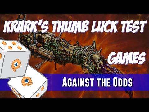 Against the Odds: Modern Krark's Thumb Luck Test (Games)