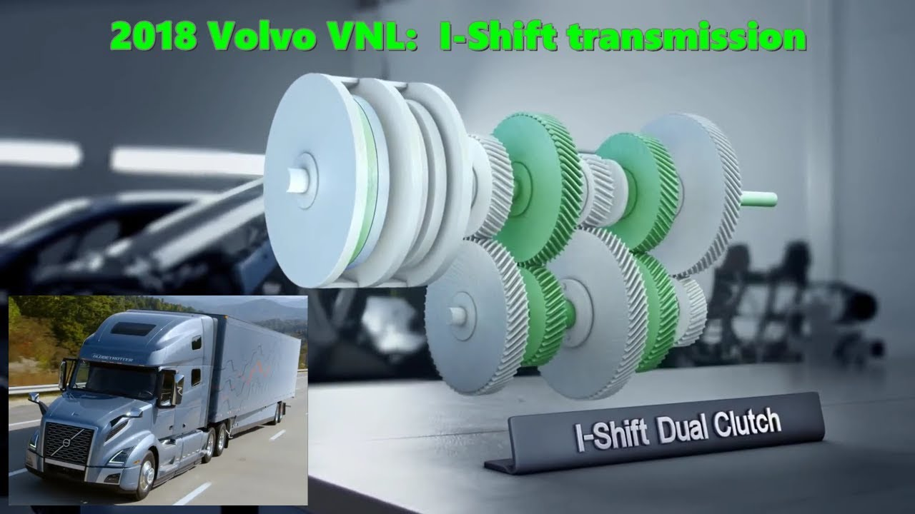 The new 2018 Volvo VNL I-shift transmission - YouTube