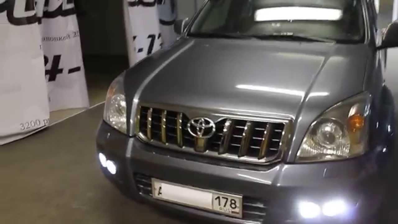 Штатная магнитола Toyota Prado 120 Андроид 4.2 - YouTube