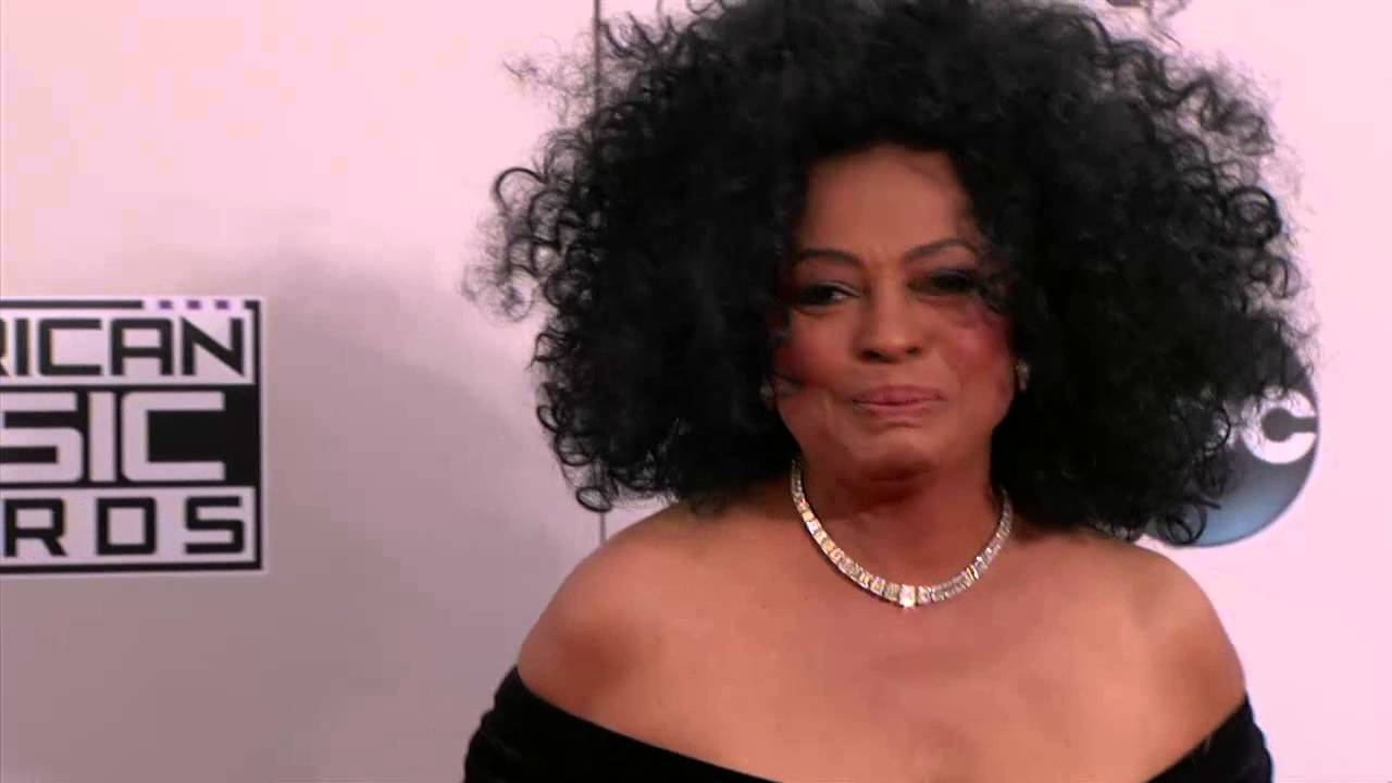 Diana Ross Tracee Ellis Ross >> Diana Ross and Tracee Ellis Ross Red Carpet Fashion - AMA 2014 - YouTube