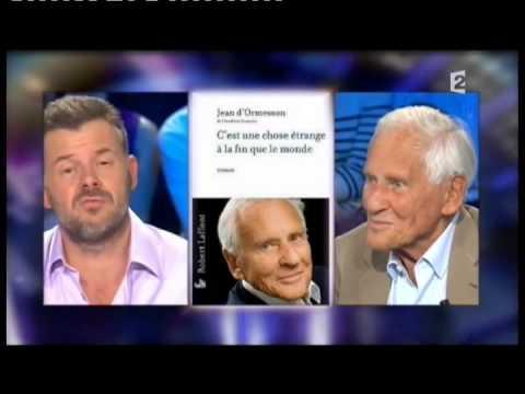 Jean d'Ormesson - On n'est pas couché 18 septembre 2010 #ONPC