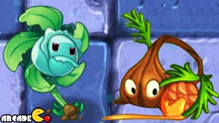 Plants Vs Zombies 2: New Frostbite Caves Plant Sap-Fling Hurrikale