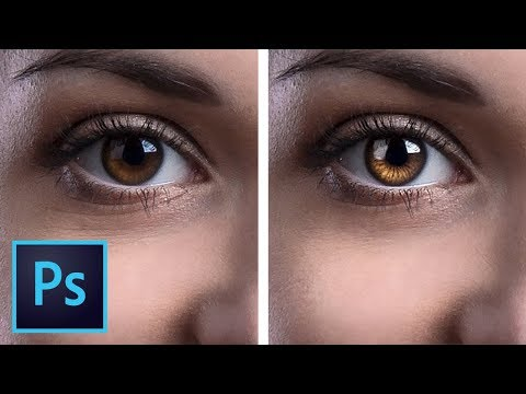 Create Amazing Details in the Eyes with Photoshop!