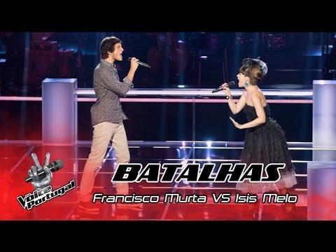 "Francisco Murta VS Isis Melo - ""Creep"" | Batalhas | The Voice Portugal"