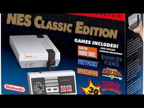 Nintendo's NES Classic Edition Returns To Stores Soon