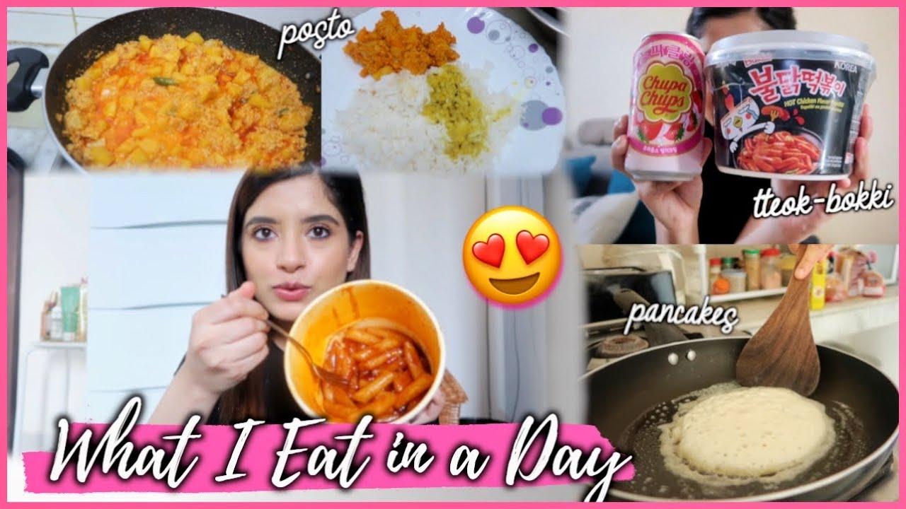 *Special* What I Eat In a Day! Korean Food, Pancakes & Posto | Easy Meals | Anindita Chakravarty