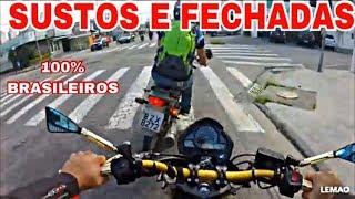 SUSTOS E FECHADAS DE MOTO (EP.01)