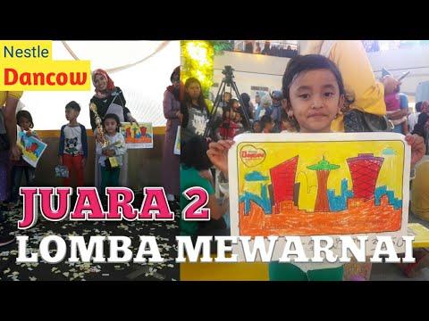 Juara 2 Lomba Mewarnai Dancow Youtube