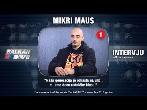 INTERVJU: Mikri Maus - Naša generacija je odrasla na ulici, mi smo deca radničke klase! (08.11.2017)