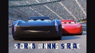 Cars 3 scene remake Storms Winning streak
