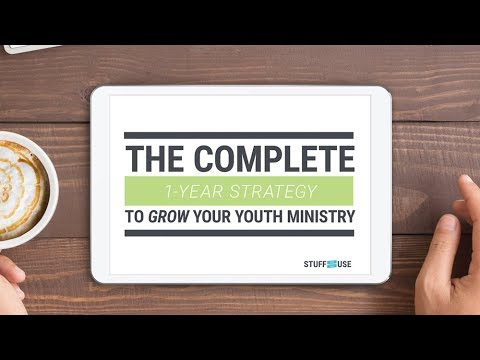 The Complete 1-Year Strategy To Grow Your Youth Ministry (Webinar) Grow Youth Ministry Curriculum