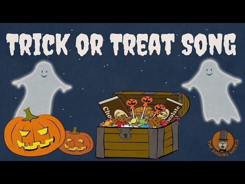 Halloween In Frankrijk.Trick Or Treat Song Halloween Songs For Kids The Singing Walrus