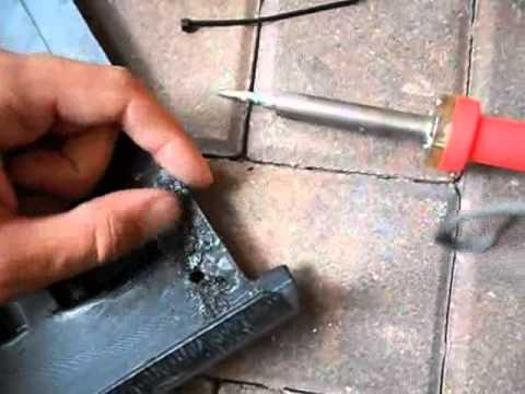 Plastic Welding Done Simple How To Repair Ed Plastic