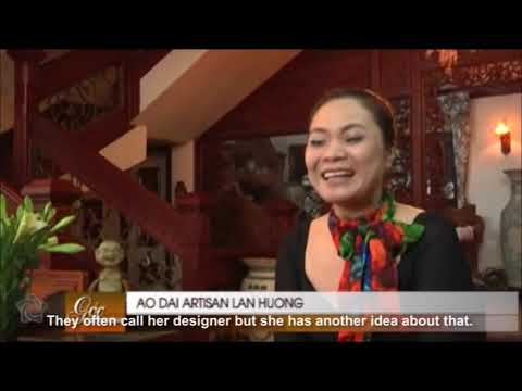 Predestined love tie with Ao Dai - Vietnamese long dress