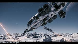 Yela Mining Operations - MASSIVE Prospector fleet at Yela! Star Citizen 3.3.6