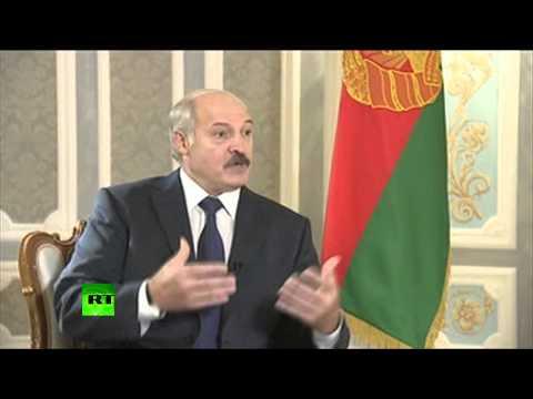 Александр Лукашенко: Радуйтесь, что я последний диктатор Европы