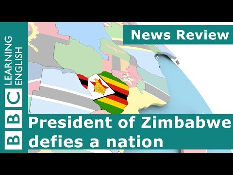 BBC News Review: President of Zimbabwe defies a nation