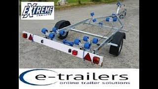 Gambar cover Extreme EXT 750 Roller Boat Trailer
