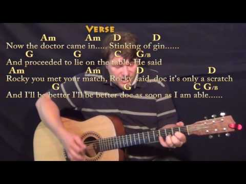 Rocky Raccoon (The Beatles) Guitar Cover Lesson with Chords/Lyrics - Munson