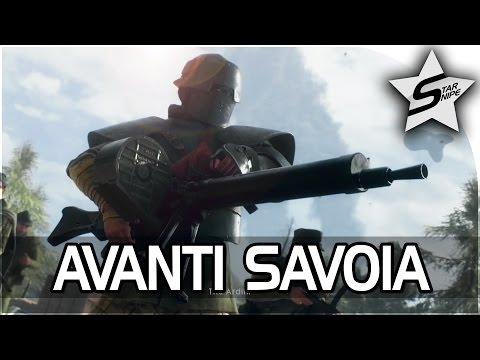 "Battlefield 1 Single Player Campaign Gameplay - Avanti Savoia Mission - ""The Walking Tank"""