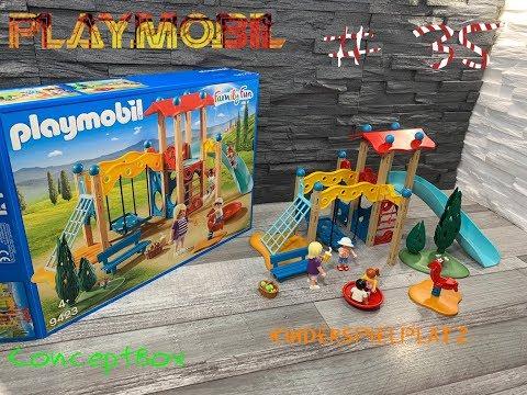 #35 Playmobil 9423 - Großer Spielplatz ConceptBox Speedbuild !!New!!