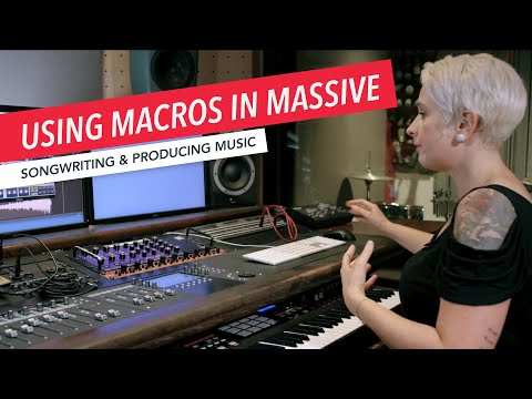 Using Macros in Massive | Music Production | Logic | Synth | Synthesizers | Berklee Online