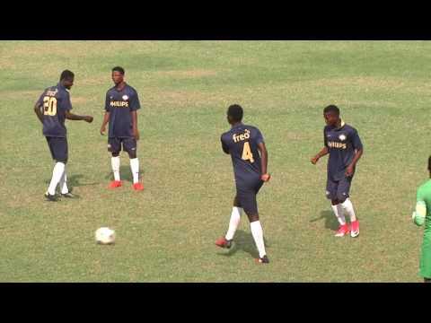 Godwin Attram's Divise Soccer Academy warm up ahead of friendly against Black Stars B