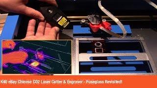 K40 eBay Chinese CO2 Laser Cutter