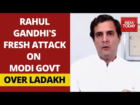 Rahul Gandhi's Fresh Attack On Modi Govt, Tweets Ladakhis Raising Voice Against Chinese Intrusion