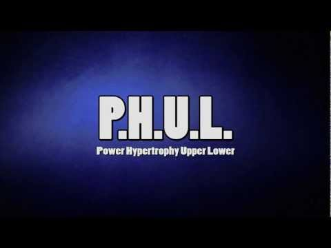Power Hypertrophy Upper Lower (P H U L ) Workout | Muscle & Strength