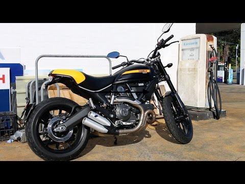 Ducati Scrambler Full Throttle Test Ride The Flat Track Inspired