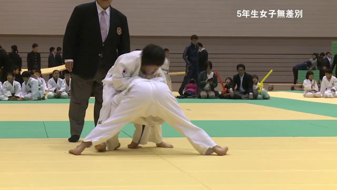第10回中国小学生柔道大会  5年生女子無差別
