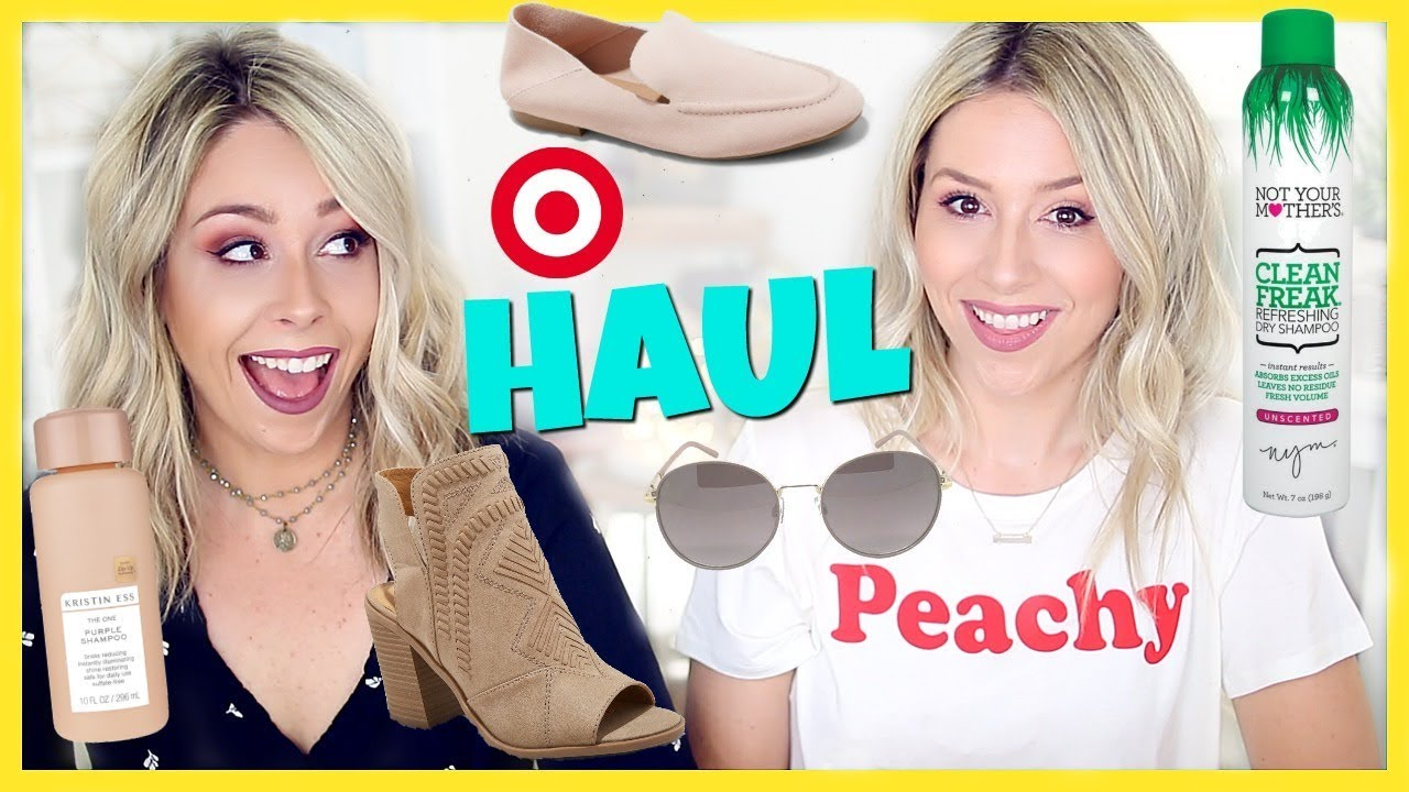 TARGET HAUL 2018 | Clothes, Shoes, Haircare, Accessories + More!