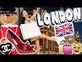 LONDON SHOPPING SPREE!