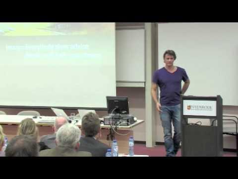 Edwin van de Bospoort (Sciomino) tijdens Online Startups Event op Nyenrode Business Universiteit