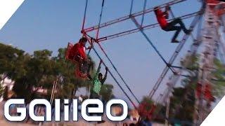 Verrücktes Indien: Lebensmüde Akrobaten und mehr | Galileo | ProSieben